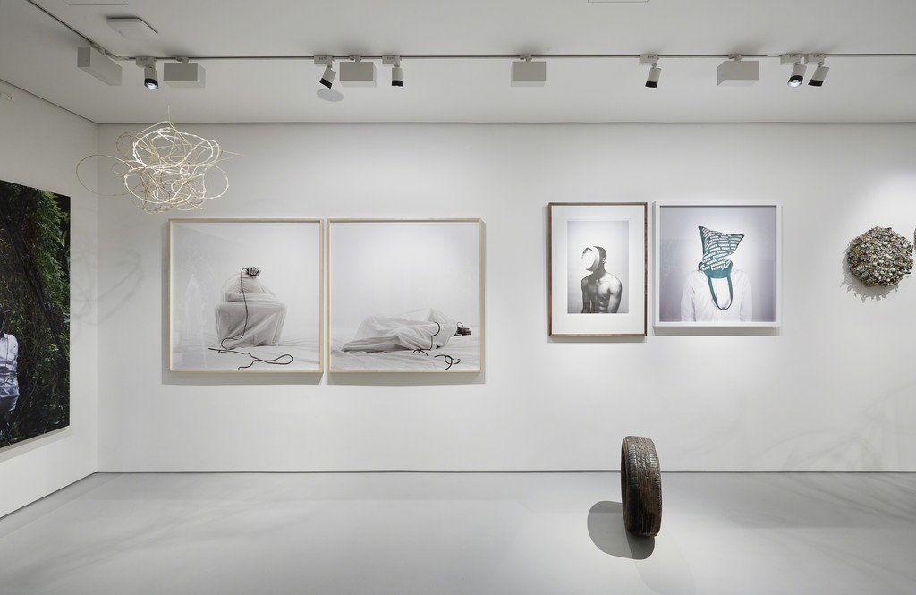 Broken  English , Exhibition view, Tyburn Gallery, 2015, Courtesy Tyburn Gallery