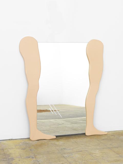 , 'Untitled Mirror (Straight Legs),' 2016, Johannes Vogt Gallery