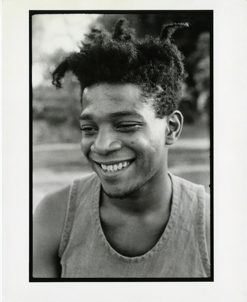 MICHAEL HALSBAND Jean-Michel Basquiat Florence, Italy August 1985