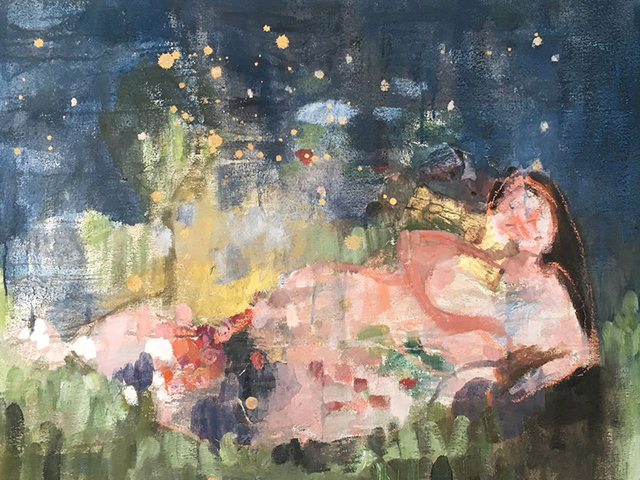 , 'A Star in the Moonlight,' 2017, Artscoops