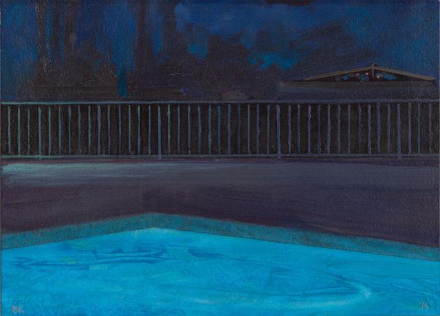 Bruce Kimerer, 'Poolside', 2016, Asher Grey Gallery