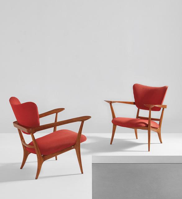 Ico Parisi, 'Rare pair of armchairs', circa 1947, Phillips