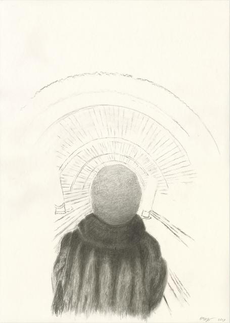 Olga Chernysheva, 2017, Watercolor on paper, Galerie Iragui