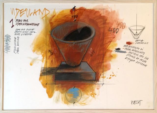 , 'Videoland II,' 1987, Mario Mauroner Contemporary Art Salzburg-Vienna