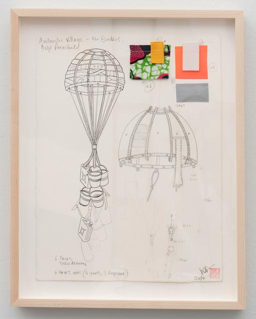 Lucy & Jorge Orta, 'Antarctica - Drop Parachute', 2008, Jane Lombard Gallery