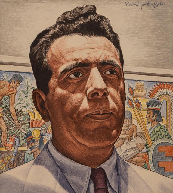 Ernest Hamlin Baker, 'Journalist Portraiture - Padilla, Time magazine cover, April 6, 1946', 1946, Robert Funk Fine Art