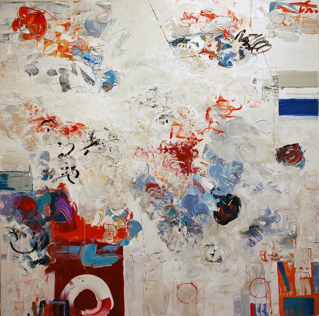 , 'Red Circle,' ca. 2015, Thomas Deans Fine Art