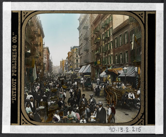 Jacob A. Riis, 'Mulberry Street', 1900, Museum of the City of New York