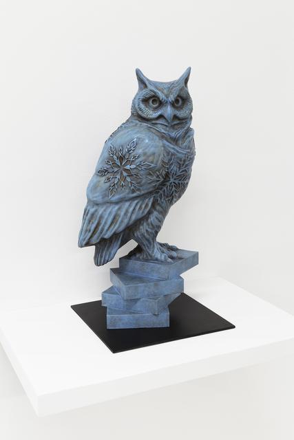 , 'Bronze Owl #1,' 2017, RYAN LEE