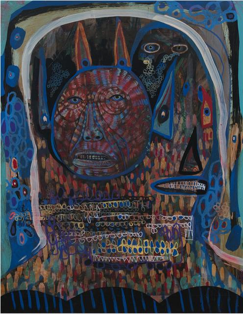 , 'Ghost Walker 3,' 2017, Galerie Matthew Namour