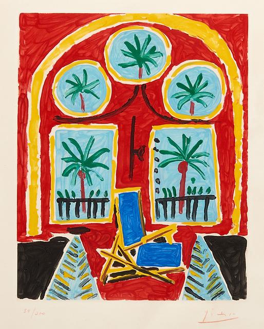 Pablo Picasso, 'La fenêtre de l'atelier à la Californie', 1959, Rago