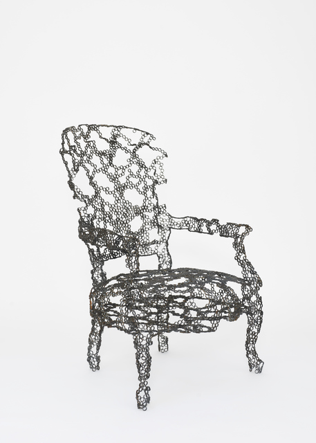 , 'Engineering Temporality Lounge Chair,' 2013, stilwerk