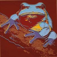 Andy Warhol, Pine Barrens Tree Frog, 1983 (#294, Endangered Species)