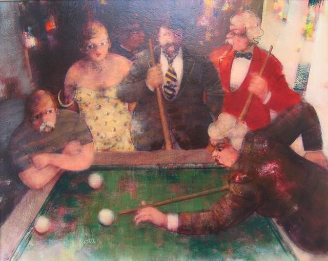 , 'Partita a biliardo / Billiards,' 2008, Galleria Edarcom Europa