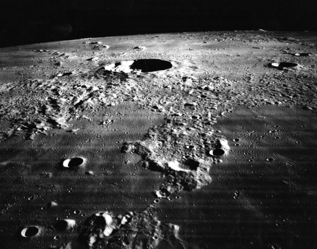 , 'The Moon - Crater Kepler and Vicinity,' 1967, Charles Schwartz Ltd.