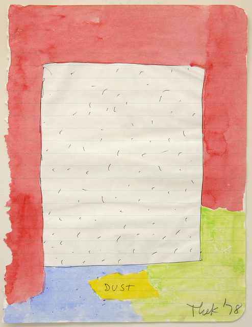Paul Thek, 'Dust', 1978, Mai 36 Galerie