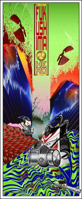 , 'Fukushima Hero – Day,' 2011, Addicted Art Gallery