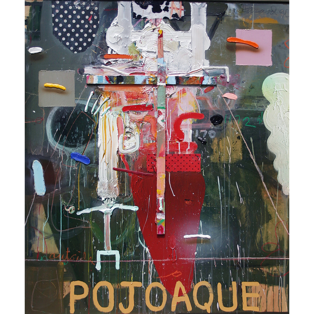 , 'Outside Pojoaque,' 1990, Allan Stone Projects