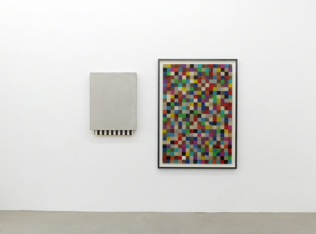 "installation view ""The Collapse of Features"", Kadel Willborn, Düsseldorf, Germany, 2014"