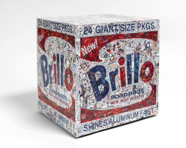 Vik Muniz, 'Brillo Box, after Warhol (Pictures of Magazines 2)', 2015, Sikkema Jenkins & Co.