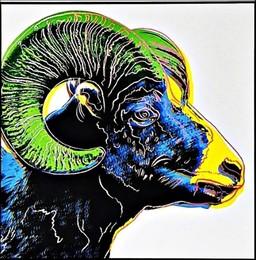 Bighorn Ram for Art Basel