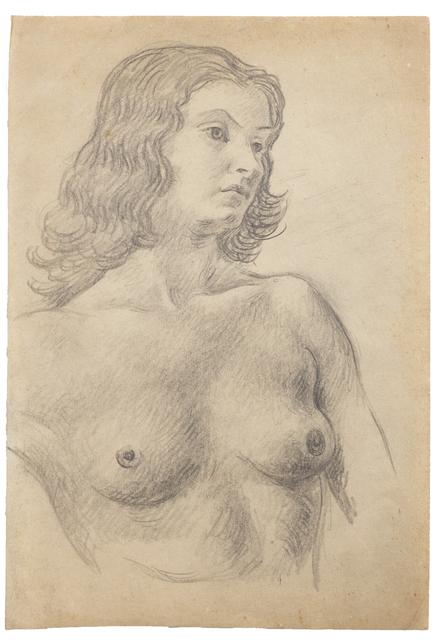 """Antonio Berni, 'Sin Título (Paule Cazenave). De la serie """"Desnudos París""""',  ca. 1927/1928, Cosmocosa"""