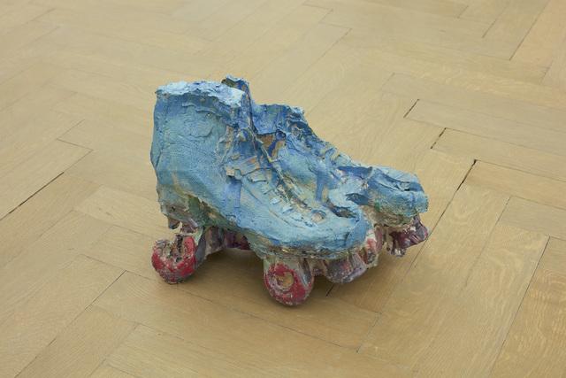 Musa paradisiaca, 'Patins [Skates]', 2016, Sculpture, Painted polyester resin and fiberglass, Dan Gunn