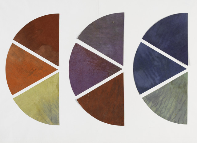 , 'Nine Elements of the Chromatic Circle ,' 1922-1933, Les Arts Décoratifs