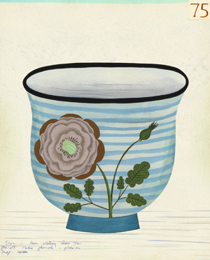 , 'Cup #75,' 2010, The Schoolhouse Gallery