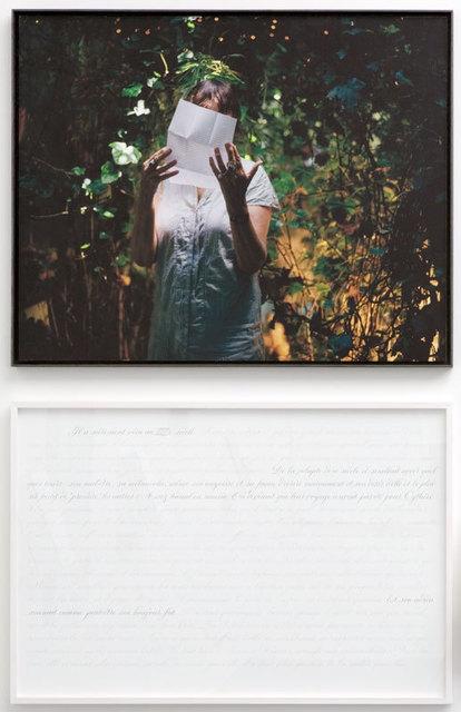 , 'Historienne du XVIIIème / Historian of the eighteenth century, Arlette Farge - Prenez soin de vous,' 2007, A3 Arndt Art Agency