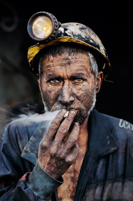 , 'Smoking Coal Miner, Pol-e-Khomri, Afghanistan,' 2002, Cavalier Galleries