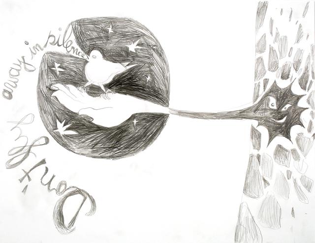 , 'IST ES DENN EIN VOGELLIED, 5.10.2011-1,' 2011, Galerie Sabine Knust