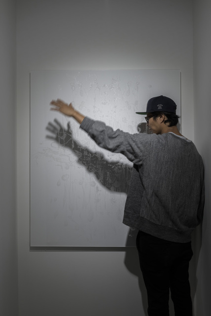 , 'White Rorschach (Shining Shadow series),' 2015, KANA KAWANISHI GALLERY