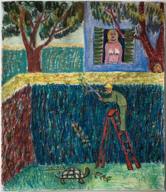 , 'Man Trimming Bush,' 2017, Galerie Ceysson & Bénétière