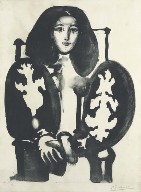 Pablo Picasso, 'Femme au Fauteuil No. 1', 1948, Christie's