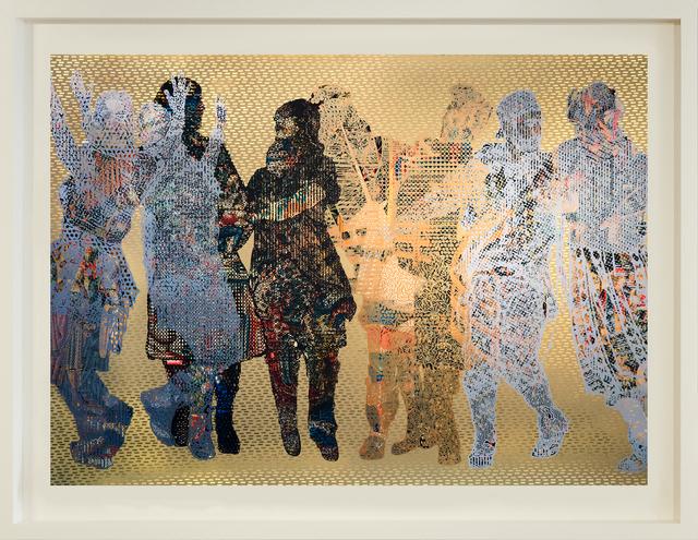 , 'Frieze #4,' 2018, Gazelli Art House