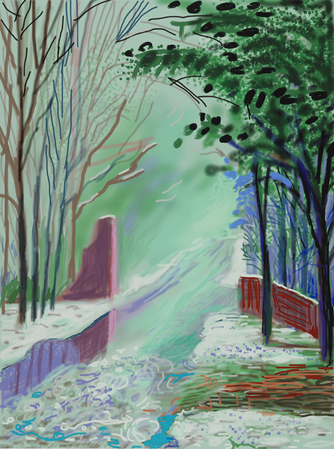 , 'The Arrival of Spring in Woldgate, East Yorkshire in 2011 (twenty eleven) - 3 January 2011,' 2011, Annely Juda Fine Art