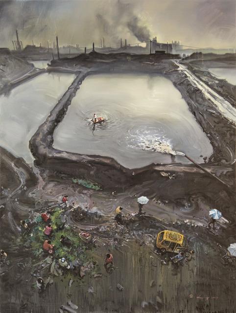 Zhou Jinhua 周金华, 'Dark Age No.1', 2008, Painting, Oil on canvas, Ho Gallery