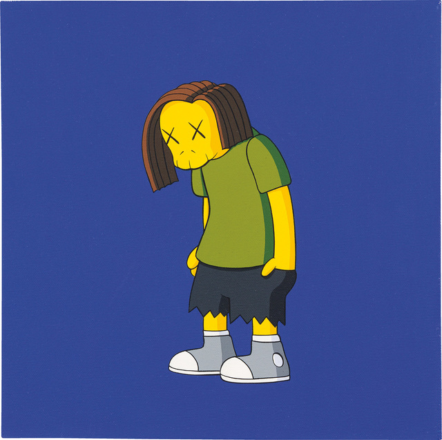 KAWS, 'KIMPSONS', 2005, Painting, Acrylic on canvas, Phillips