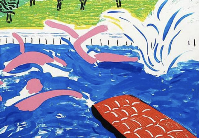 , 'Afternoon Swimming,' 1979, Susan Sheehan Gallery
