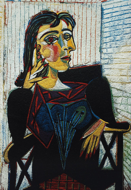 , 'Dora Maar, After Picasso (From Pictures of Pigment),' 2007, Edwynn Houk Gallery