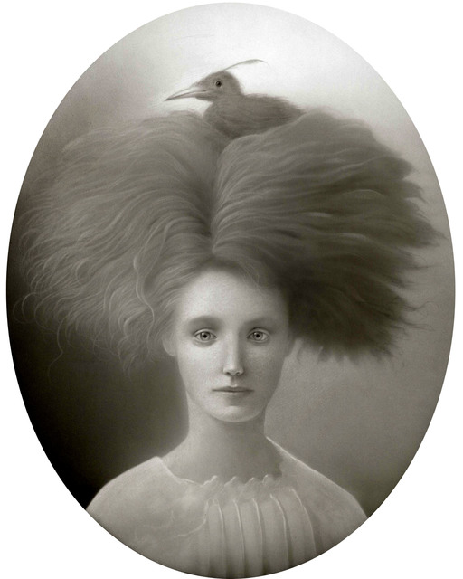 , 'Ursula and the Bird Seed,' , William Baczek Fine Arts