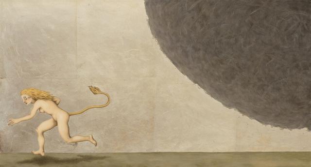 , 'LIONESSStill Running From Some Forgotten Thing,' 2016, Albert Merola Gallery