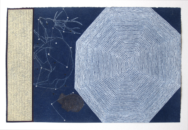 , 'Dibujo 1 (detail),' 2011, Casas Riegner