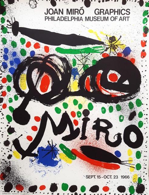 Joan Miró, 'Graphics: Philadelphia Museum of Art', 1966, Graves International Art