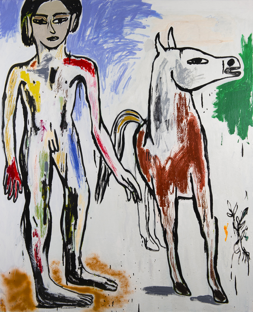 , 'Boy Leading a Horse ,' 2016, Freight + Volume