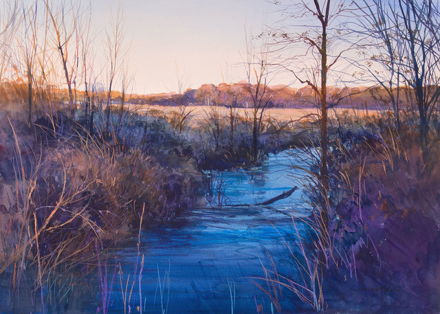 , 'MARSH INLET-LIGHT FREEZE WITH FROST (MIGRATION SERIES),' 1999, Jerald Melberg Gallery