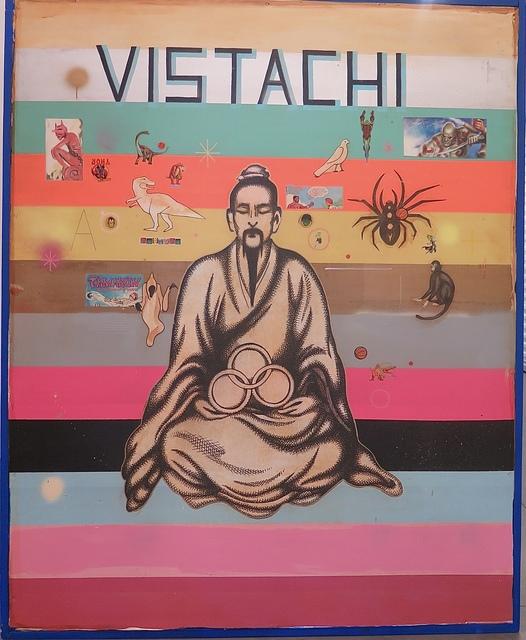 Armando Lerma, 'Vistachi', 2018, Painting, Mixed media on Wood, Eastern Projects