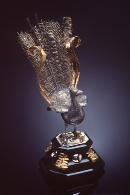 Henry Steiner, 'Silver gilt lyrebird', 1884, Powerhouse Museum