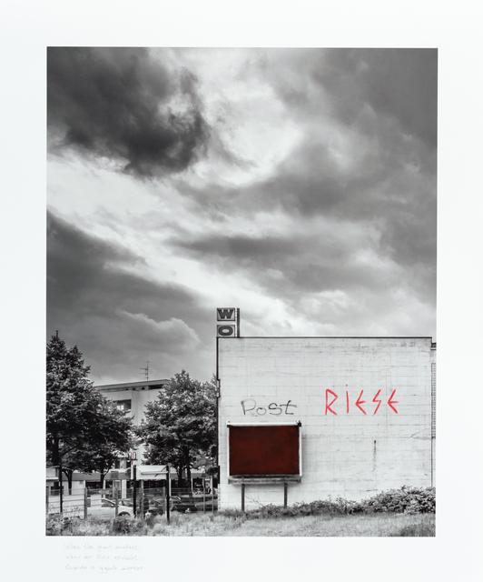 , 'When the giant awakens. |Wenn der Riese erwacht |Quando o gigante acordar,' 2014, Portas Vilaseca Galeria